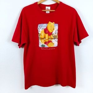 Winnie The Pooh Disney Store Parks 90s Tshirt